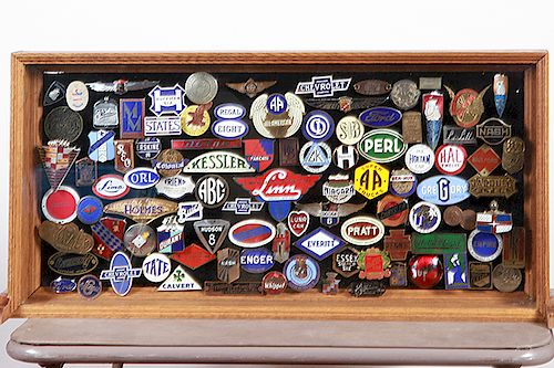 Collection of Automobile Badges/Emblems