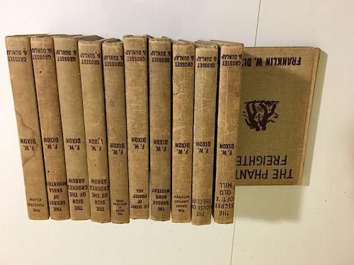 F.W Dixon Books. 11 books