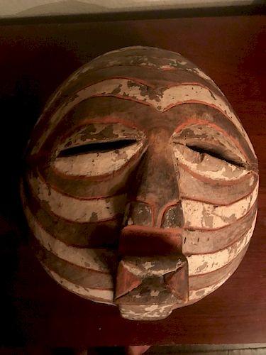 Luba Kifwebe Mask,Mid 20th Century