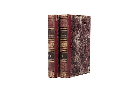 LOTE DE LIBROS.Le Fédéraliste, ou Collection de Quelques Écrits en Faveur de la Constitution Proposée aux États-Unis...Paris: Chez Buis