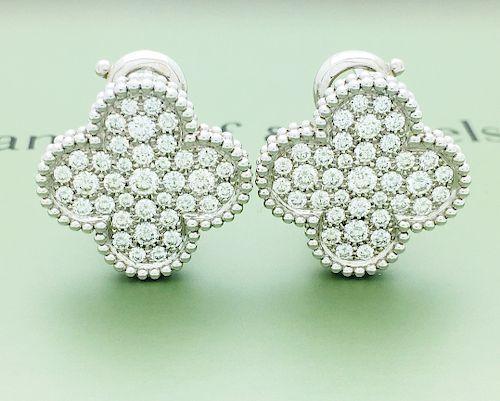 Van Cleef & Arpels Magic Alhambra 18k & Diamond