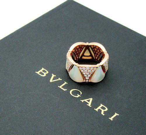 Bvlgari Bulgari DIVAS' DREAM Ring 18k pink gold