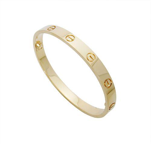 Cartier Love 18k Yellow Gold Size 17
