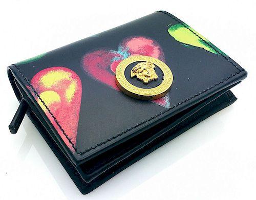 Versace  Love Versace Print Bifold Wallet