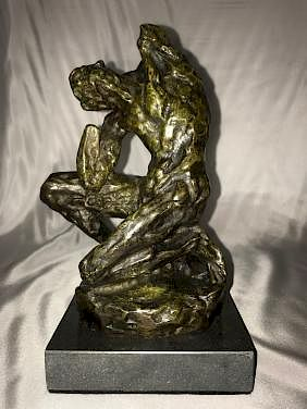 French Sculpture Henry Matisse Homage to Michelangelo