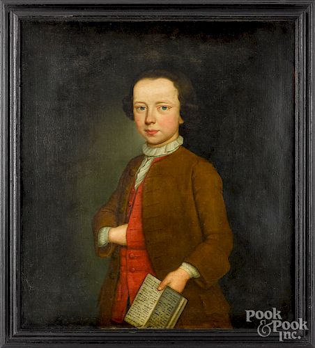 Oil on canvas portrait of Jonathan Wild