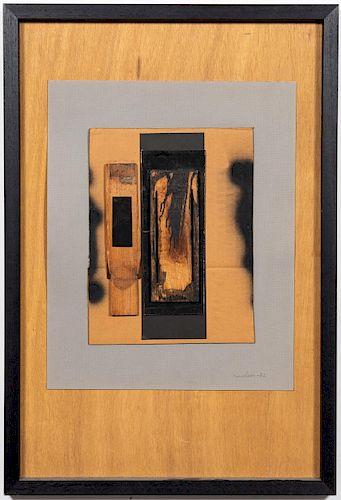 "Louise Nevelson ""Untitled"" Mixed Media, 1982"