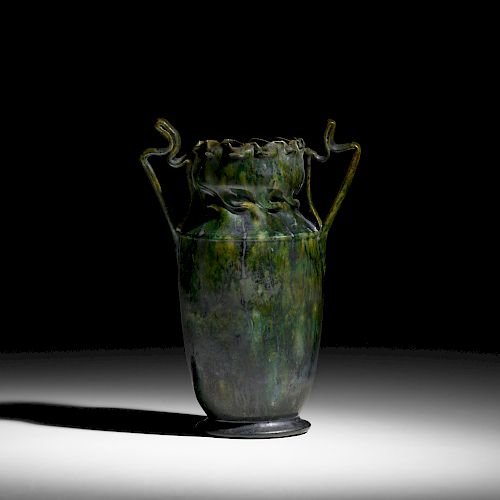 George E. Ohr, exceptional large vase