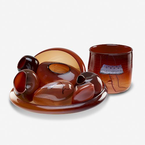 Dale Chihuly, early Basket Set