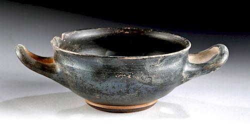 Lovely Greek Attic Pottery Kylix