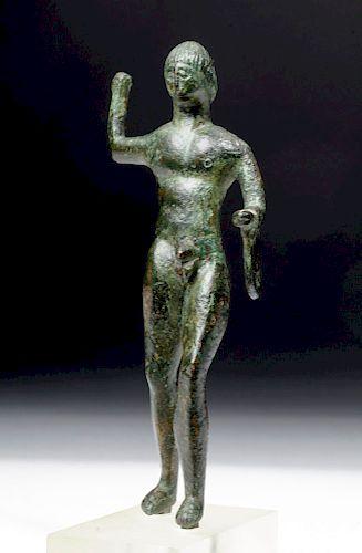 Etruscan Bronze Statue of Hercules / Herakles