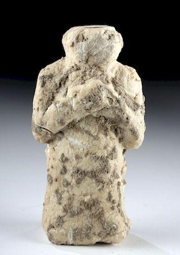 Anatolian Neolithic / Chalcolithic Calcite Idol