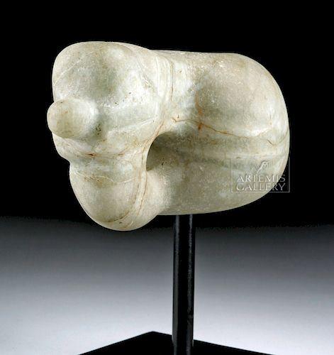Costa Rican Stone Mace Head - Abstract Avian