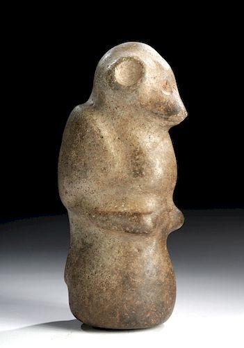 Taino Stone Pestle -  Bird / Human Figure