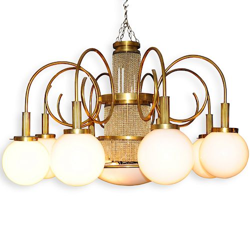 Mid-Century Palace Size Chandelier