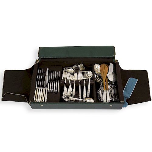(182 Pcs) International Sterling Silver Royal Danish Flatware