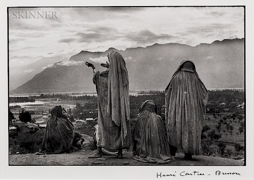 Henri Cartier-Bresson (French, 1908-2004)  Srinagar, Kashmir
