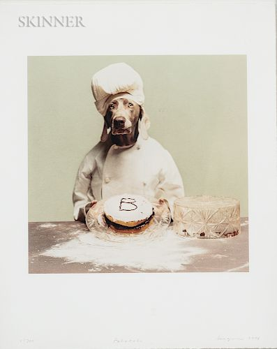 William Wegman (American, b. 1943) Six Images from William Wegman's Mother Goose: Little Jack Horner; Little Jumping Joan; Little Miss