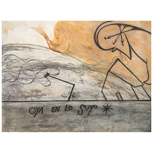 "JOSÉ BEDIA, Oyá en lo suyo, 1997, Signed Screenprint H. C 3/5, 33.4 x 45.2"" (85 x 115 cm)"