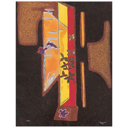 "JUAN SORIANO, Sin título, de la serie Ventanas (""Untitled, from the Windows Series""), Printscreen 22 / 50, 31 x 23.6"" (79 x 60 cm)"
