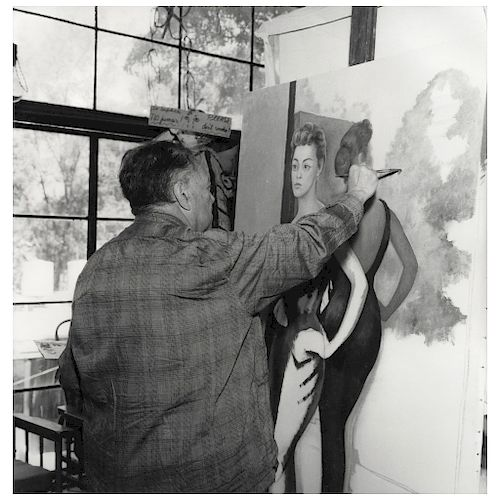 "HÉCTOR GARCÍA, Sin título, 1956 (""Untitled, 1956""), Unsigned, Silver / gelatin, 16.1 x 15.7"" (41 x 40 cm)"