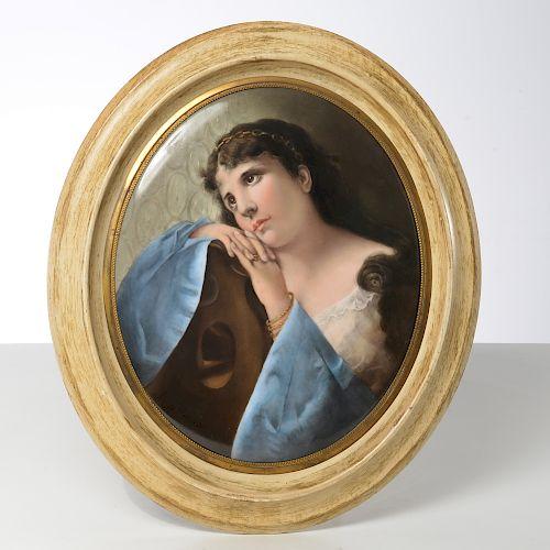 After Richter, KPM porcelain plaque