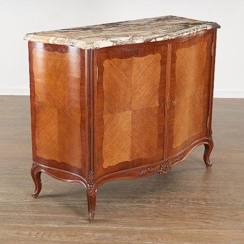 Louis XV style commode a vantaux