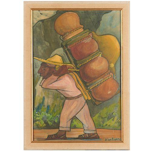 Diego Rivera (after), screenprint