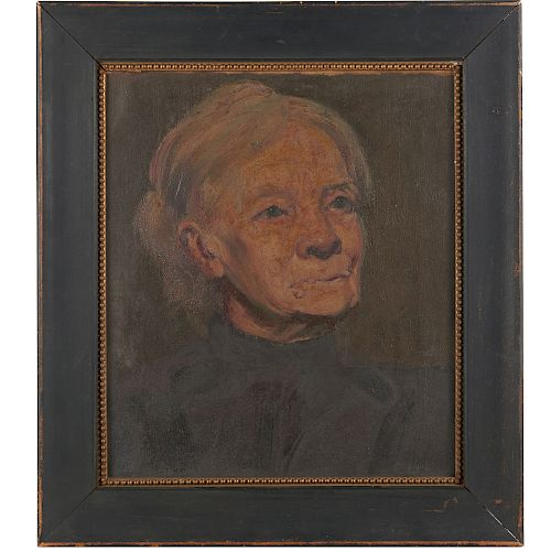 American School, portrait painting