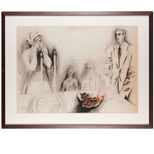 Menachem Gueffen, Judaic drawing