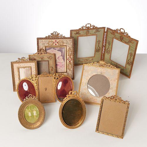 (9) Vintage Louis XV & XVI picture frames