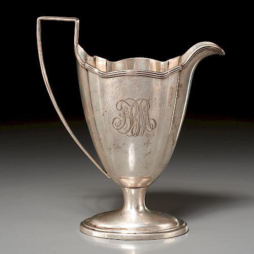 Gorham & Co., silver cream jug