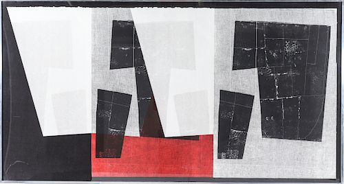 """Louise Nevelson """"Untitled (Baro 94)"""" Lithograph"""