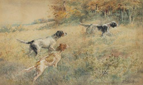 Edmund H. Osthaus (1858-1928)  Three Setters