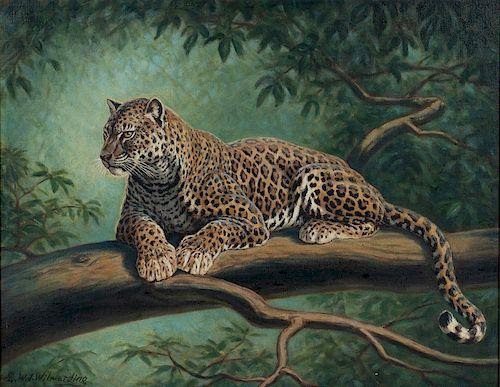 Walter Joseph Wilwerding (1891-1966)  Two Wildlife Illustrations