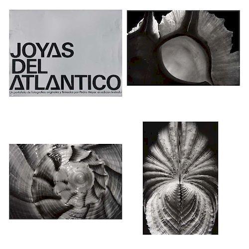 PEDRO MEYER, Joyas del Atlántico, Firmadas, Plata / gelatina, 70 / 230, 14.6x 21.6 cm cada una, Piezas: 6
