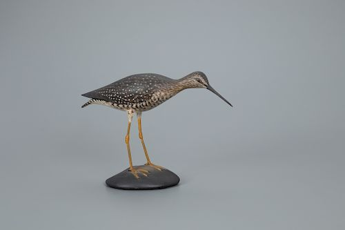 Reaching Greater Yellowlegs, A. Elmer Crowell (1862-1952)