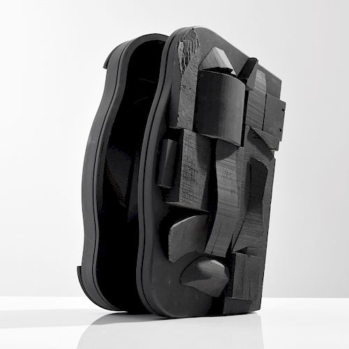 """Louise Nevelson """"Sky Case""""  Hinged Sculpture"""
