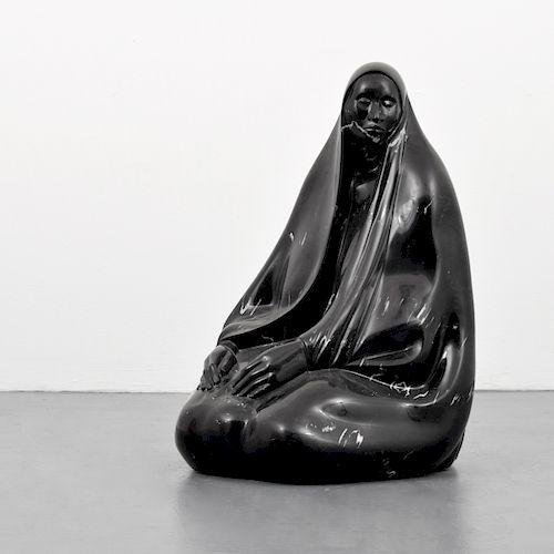 Large Francisco Zuniga Marble Figurative Sculpture