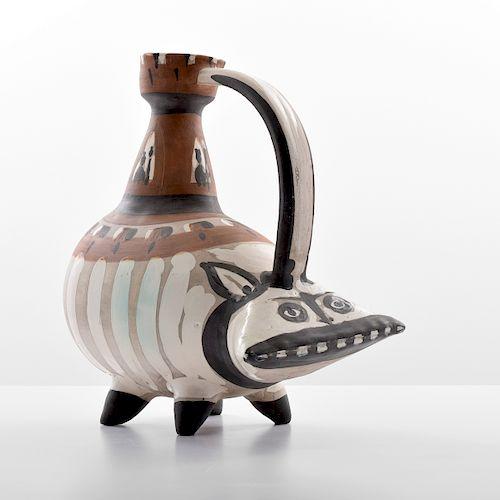 "Monumental Pablo Picasso ""Tarasque"" Jug/Vessel (A.R. 247)"