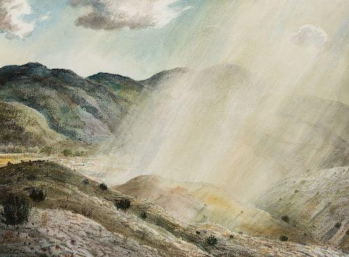 Peter Hurd | Aguacero en Año Seco
