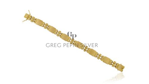 Vintage Georg Jensen 18kt Gold Bracelet 287 by Oscar Gundlach-Pedersen