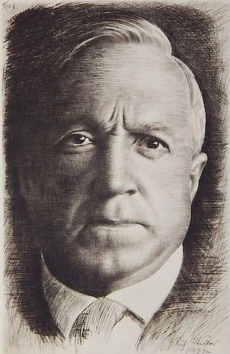 Richard Mueller etching