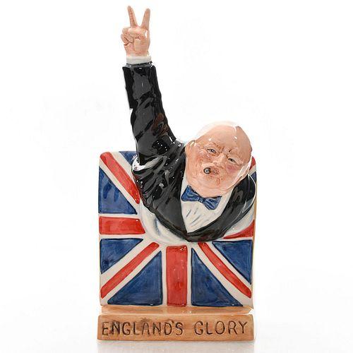 BAIRSTOW MANOR WINSTON CHURCHILL FIGURE ENGLAND'S GLORY