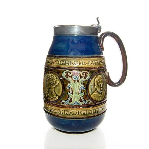 DOULTON LAMBETH CERAMIC CORONATION JUG