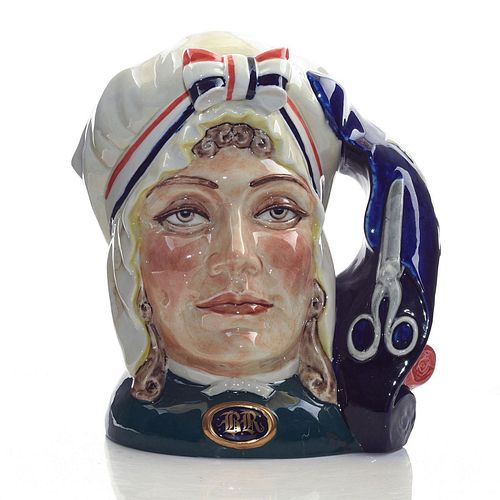 PEGGY DAVIES LARGE LIMITED EDITION JUG, BETSY ROSS