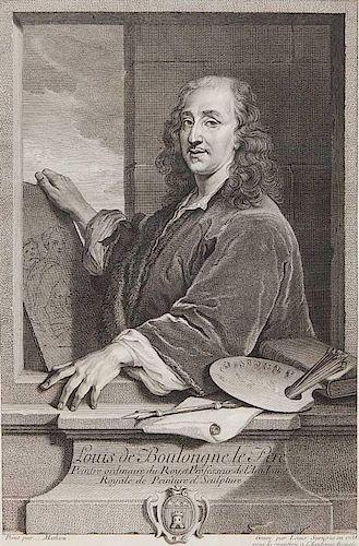 Louis Surugue engraving
