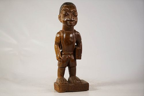 Yoruba Colonial Figure