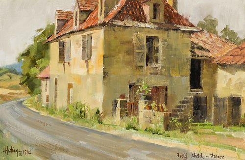 Clark Hulings | Field Sketch, France