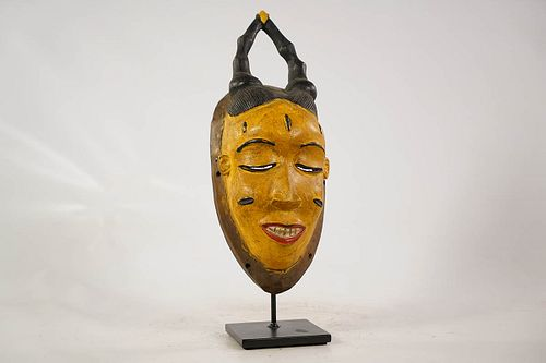 Authentic Guro Mask with Custom Stand